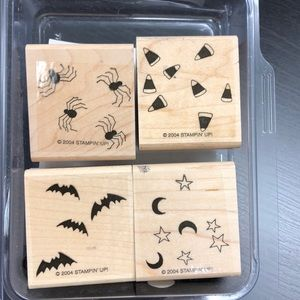 "Stampin' Up! ""Halloween Backgrounds"" Stamp Set"